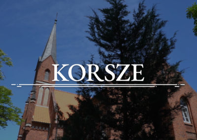 KORSZE – The Roman-Catholic Church of the Exaltation of the Holy Cross