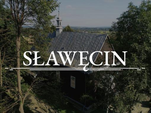 Slawecin – l'église dédiée à Sainte-Catherine