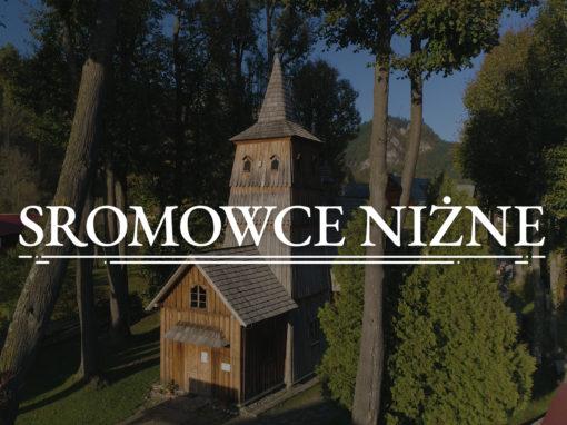 SROMOWCE NIŻNE – Eglise sous le vocable  de Sainte Catherine