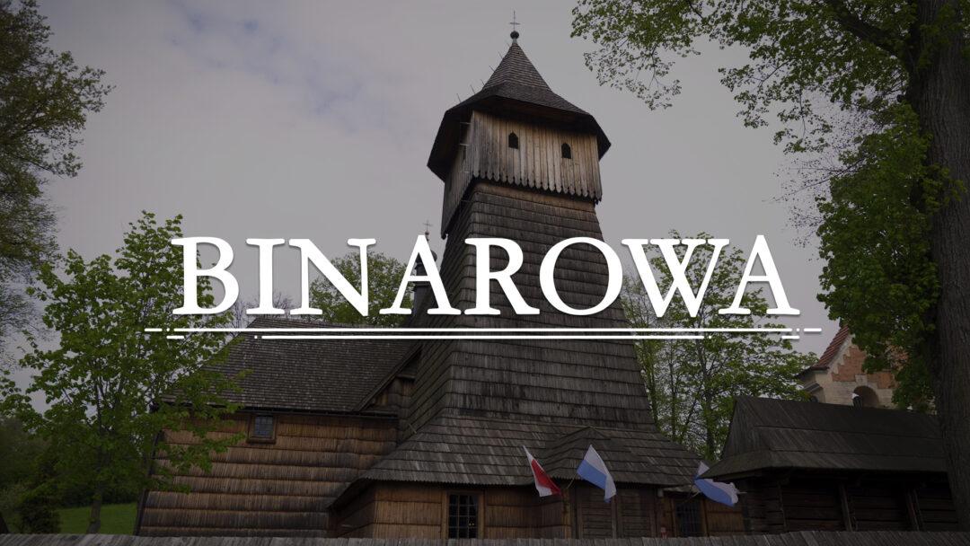 BINAROWA – Kościół pw. św. Michała Archanioła